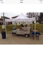 Hot dog cart available