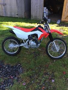 2015 Honda CRF125 Big Wheel