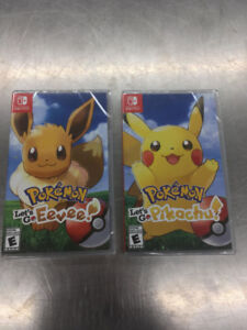 2 Pokemon Games for the Nintendo Switch