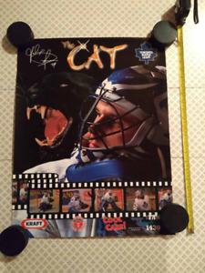 Felix Potvin, Toronto Maple Leafs, Collectable Poster