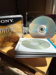 Blank CD-R's and Blank DVD-R's. Peterborough Peterborough Area image 1