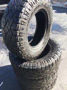 Goodyear Duratrac MUD tires 265 70 17