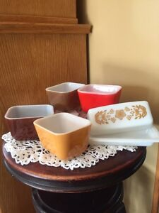 Pyrex Fore King and others.