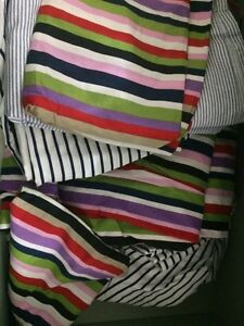 Barely used bed covers, pillow cover, mattress protector