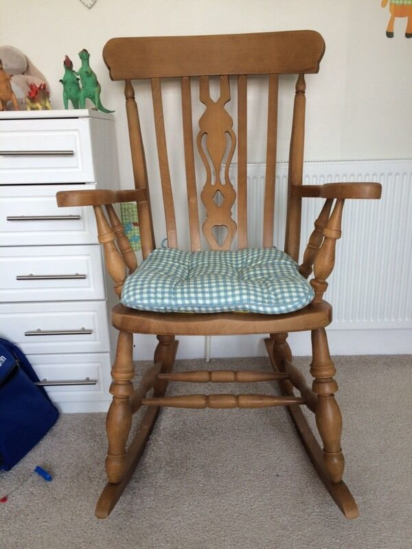 wooden rocking chair 70 in sutton on hull east yorkshire