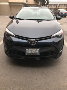 Toyota Corolla XLE 2018 Lease Takeover/Transfer With Incentive