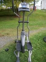 Freespirit elliptical exercise machine