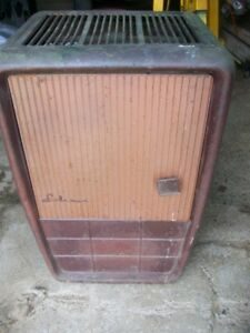 Coleman oil space heater ideal for a camp garage fishing hut ect