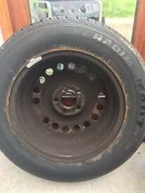 Brand new spare tyre
