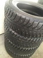 Champiro Ice Pro 195/65/15 studded winter tires great shape