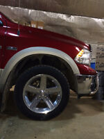 Dodge RAM RIMS AND NEW TIRES