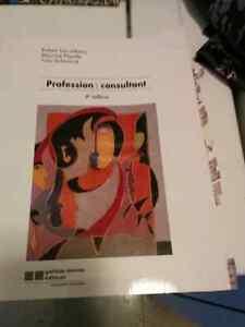 Livre profession consultant