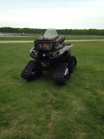 2008 Grizzly 700 Camo With Tracks