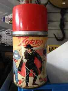 ZORRO ALADDIN THERMOS ONLY - PARKER PICKERS -