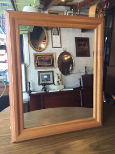 Solid Wood Framed Mirror