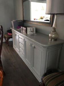 Dining Room Buffet - Pale Gray