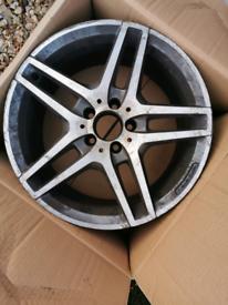 Mercedes AMG alloy wheel