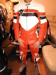 DAINESE SIZE 38-40 USA/CAN ONE PC MOTORCYCLE RACE SUIT Windsor Region Ontario image 1