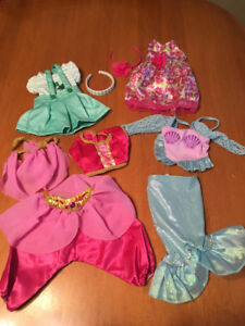 "18"" doll lot of 3 outfits fits American girl dolls"