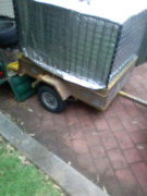 4x3 galvanised cage trailer Quakers Hill Blacktown Area Preview