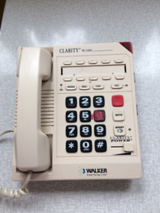 TELEPHONES THAT ARE LAND LINE FOR THE HEARING IMPAIRED