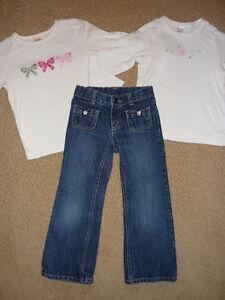 Girl's Gymboree Jeans & Shirts - size 5