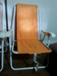 NICE SUMMER LOW HEIGHT FOLDING CHAIRS