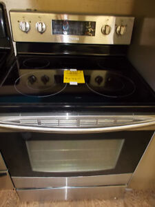 Samsung stainless stove with self clean and convection. $599.