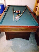 Pool table NOT SLATE