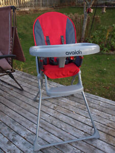 Avalon High Chair with 5 Point Harness