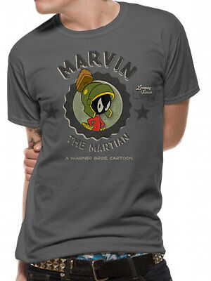 3215 Marvin Marsmensch T-Shirt Looney Tunes Wile E Coyote Straße Läufer - Mars Looney Tunes