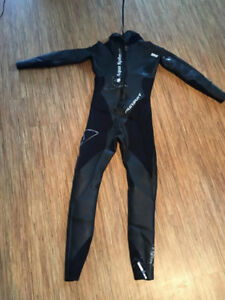 Mens Aquasphere Ironman Wetsuit Size Small
