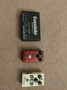 Pedals and Power Supply