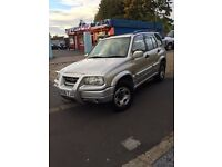 Suzuki Grand Vitara V6 prestige condition 12 M.O.T