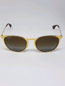 RAYBAN RB 3539 ERIKA GOLD METAL POLARIZED cheap! $75 QUICK SALE