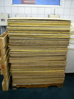 "8 skids of Plywood Sheets - 40"" x 48"" - 4mm thick"