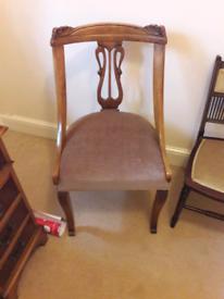 Antique Edwardian Mahogany Chair