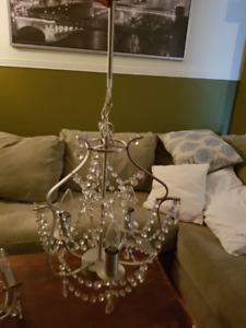 2 Luminaires chandelier