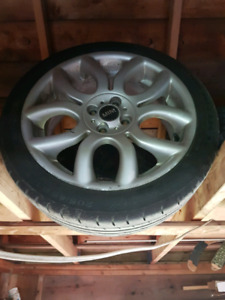 """17"""" Mini Cooper S wheels and 205/45/17 tires"""