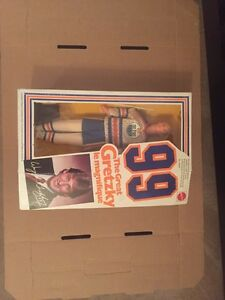 MATTELL 1983 WAYNE GRETZKY DOLL IN ORIGINAL BOX $125.00