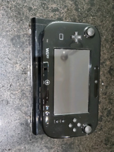 Wii U with 5 games.
