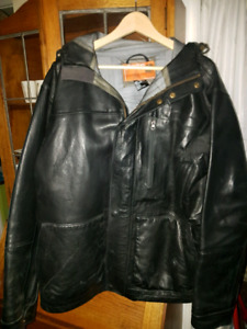 analog all leather size L
