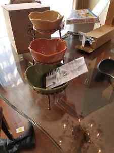 Princess House stacking Bowls