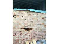 New dressed timber 3 X 2 X 12 ft