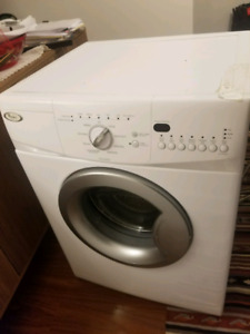 Compact Whirlpool Washer and Dryer