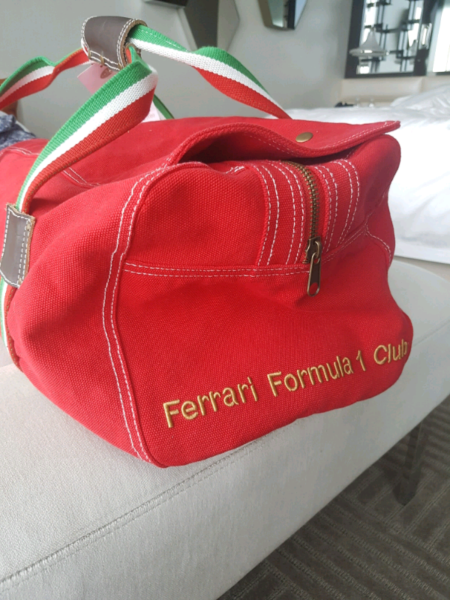 Authentic ferrari travel bag  1afc796a34629