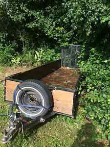 Utility trailer 4 x14 ft great for 2 atvs Kingston Kingston Area image 2