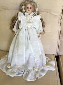 Porcelain doll bride