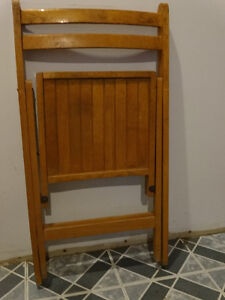 Wooden Vintage Chair from the 60s or earlier?? Gatineau Ottawa / Gatineau Area image 3