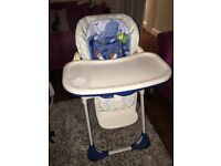 Chicco 2 in 1 highchair Polly rrp £110